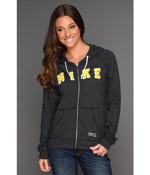 Bluze Nike - Rally Full-Zip Hoodie - Black/Heather