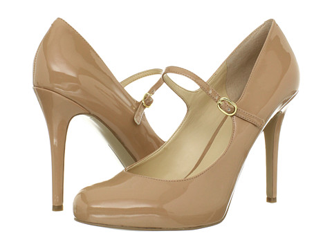 Pantofi Nine West - MsKnoItAll - Dark Natural Synthetic