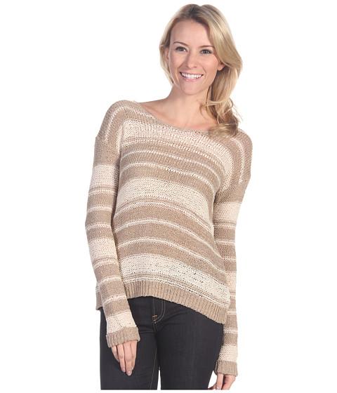 Bluze Lucky Brand - Billie Tape Yarn Sweater - Summer Sand