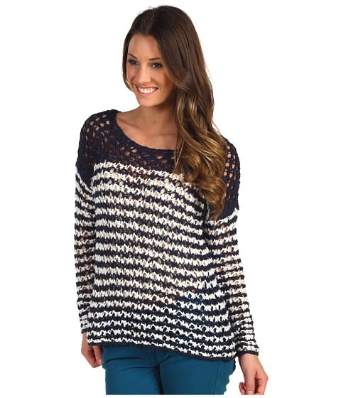 Bluze Lucky Brand - Ester Striped Sweater - Blue Multi