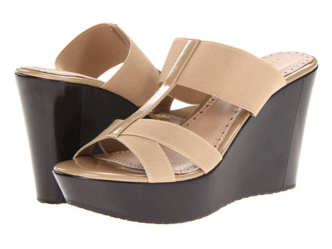 Sandale Charles by Charles David - Flexi - Camel Patent