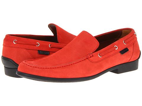 Pantofi A. Testoni - M80314SZM - Suede Cordovan