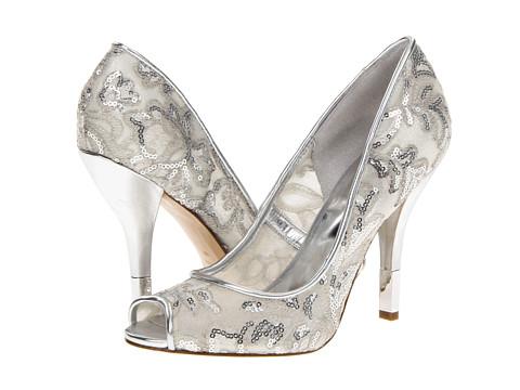 Pantofi Nine West - Kash - Silver/Silver Fabric