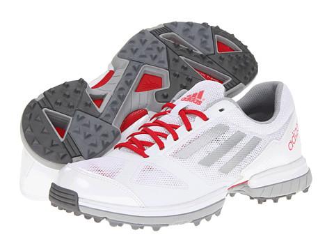 Adidasi adidas - adiZERO Sport - Running White/Metallic Silver/Punch