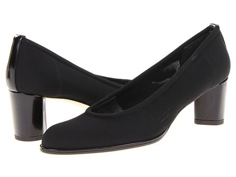 Pantofi Stuart Weitzman - Gauzelle - Black Gauge Stretch