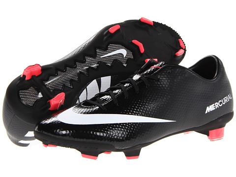Adidasi Nike - Mercurial Veloce FG - Black/Dark Charcoal/Atomic Red/White