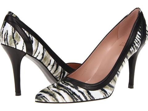 Pantofi Stuart Weitzman - Pert - Beige Tiget Patent