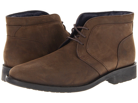 Ghete Cole Haan - Air Stanton Chukka - Dark Brown Waterproof