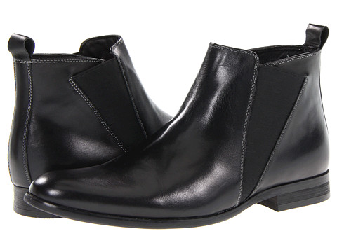 Ghete Steve Madden - Machho - Black Leather