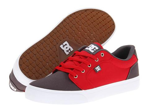 Adidasi DC - Anvil TX - Grey/Red