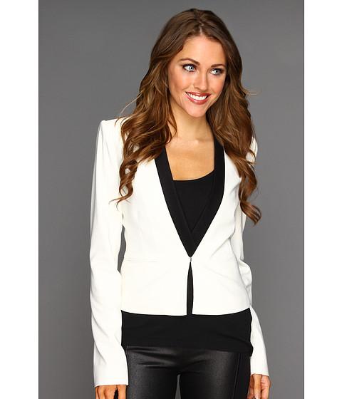 Jachete BCBGMAXAZRIA - Guy Tuxedo Jacket - Off White