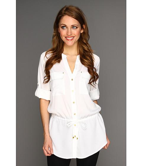 Tricouri Calvin Klein - Drawstring Tunic - Soft White