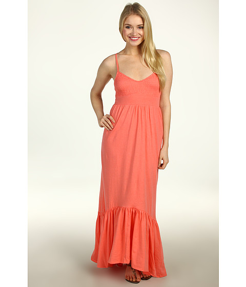 Rochii Billabong - Faster Maxi Dress - Coral Kiss Heather