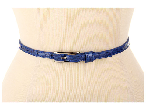 Curele Lodis Accessories - Wilshire Thin Inset Pant Belt - Sapphire