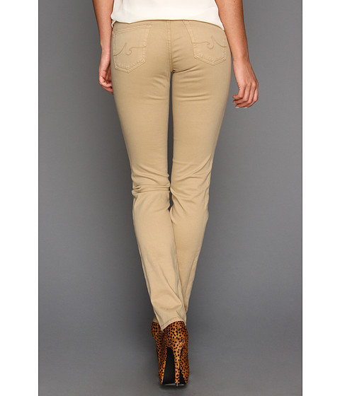 Pantaloni AG Adriano Goldschmied - Stilt Cigarette Leg Stretch Sateen in Nubuck - Nubuck
