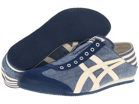 Adidasi ASICS - Mexico 66î Paraty - Blue Chambray/Natural