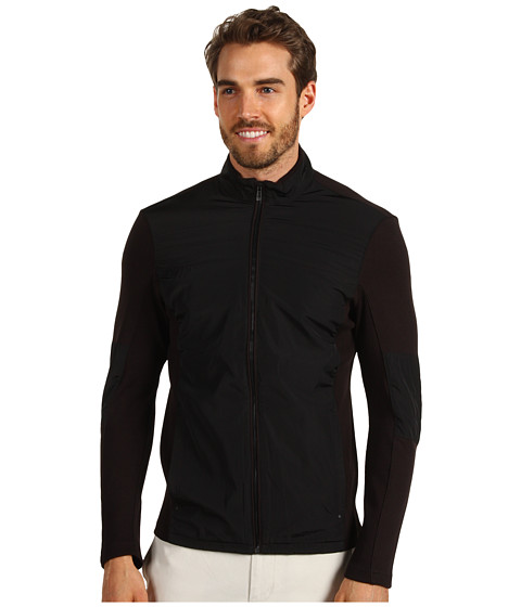 Jachete Calvin Klein - L/S Full Zip Mock Neck French Terry Twill - Black