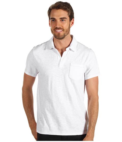 Tricouri Calvin Klein - Solid S/S Polo - White