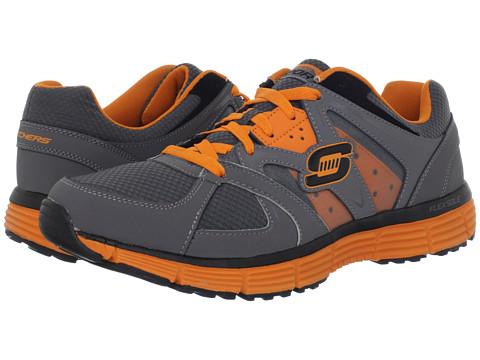 Adidasi SKECHERS - Agility - Outfield - Charcoal/Orange