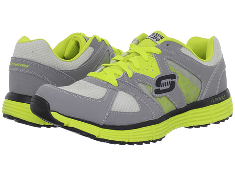 Adidasi SKECHERS - Agility - Outfield - Gray/Lime