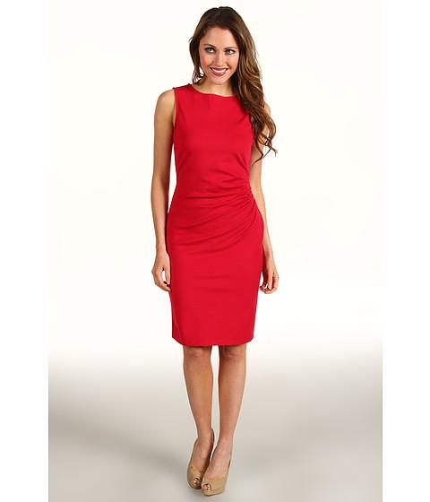 Rochii Kenneth Cole - Hilary Double-Knit Dress - Ruby