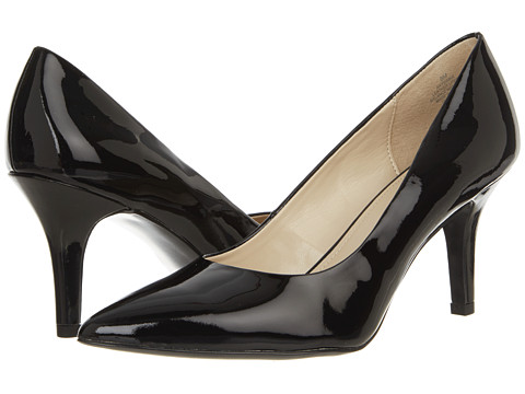 Pantofi Anne Klein New York - Yerma - Black Patent