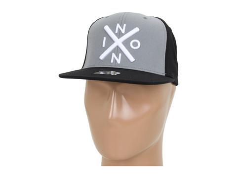 Sepci Nixon - Exchange Starter Hat - Black/Heather Grey