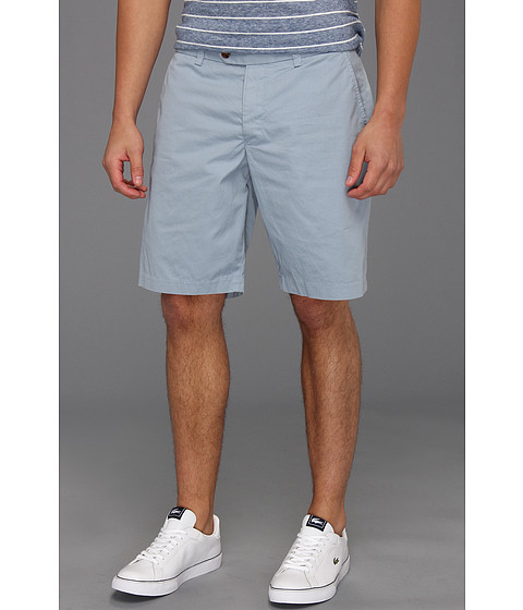 Pantaloni French Connection - Peached Cotton Short - Boat Blue