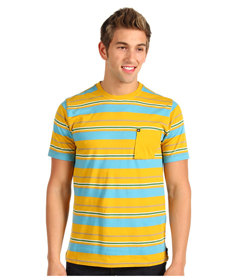 Tricouri Quiksilver - Water Child Knit Tee - Curry Yellow