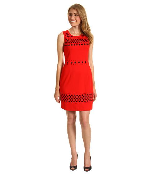Rochii rsvp - Della Dress - Red/Black