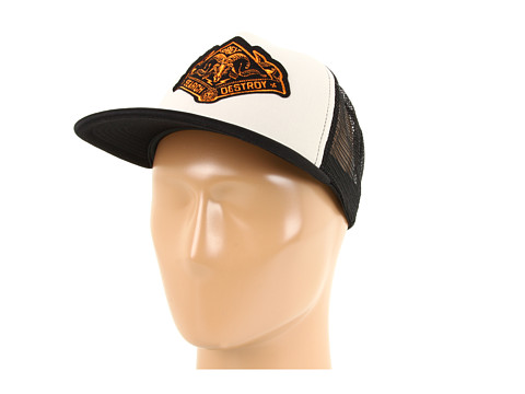 Sepci Obey - Search & Destroy Trucker Hat - Natural/Black