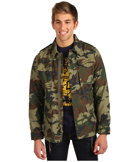 Jachete Obey - Downtown Iggy Overshirt - Field Camo