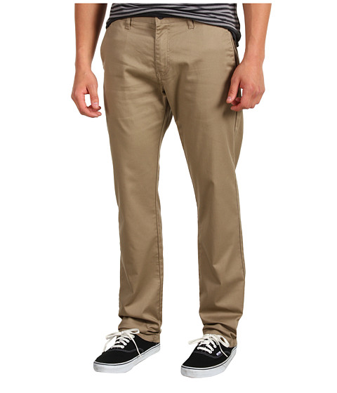 Pantaloni Volcom - Frickin Modern Stretch Chino - Khaki