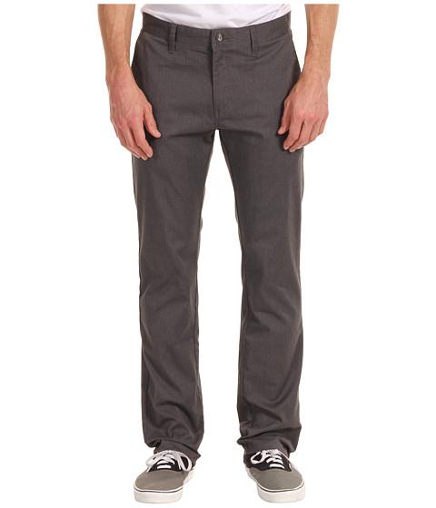 Pantaloni Volcom - Frickin Modern Stretch Chino - Charcoal Heather