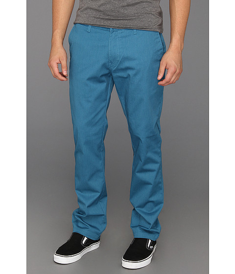 Pantaloni Volcom - Frickin Modern Stretch Chino - Vintage Blue