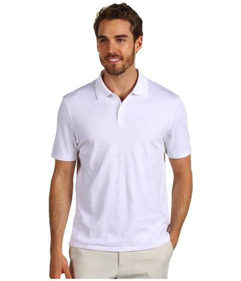 Tricouri Calvin Klein - S/S 2 Button Liquid Cotton Interlock Polo - White