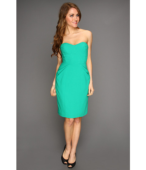Rochii BCBGMAXAZRIA - Daphine Strapless Dress - Emerald