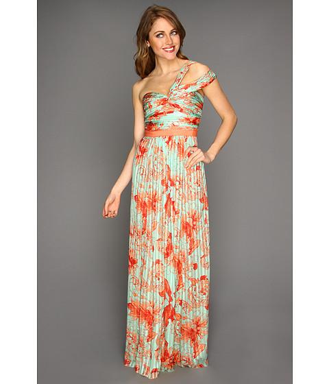 Rochii BCBGMAXAZRIA - Inga Evening Dress - Bright Nectar Combo