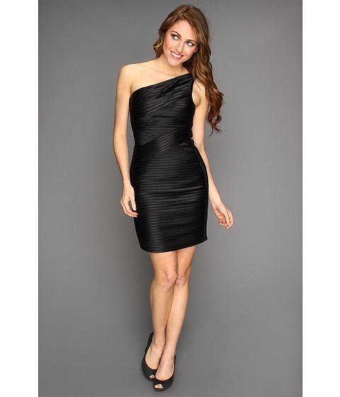 Rochii BCBGMAXAZRIA - Mamie One-Shoulder Dress - Black