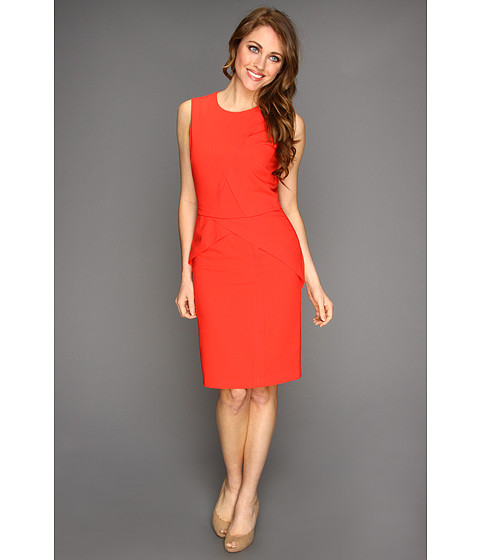 Rochii BCBGMAXAZRIA - Petite Ida Sheath Dress - Bright Poppy