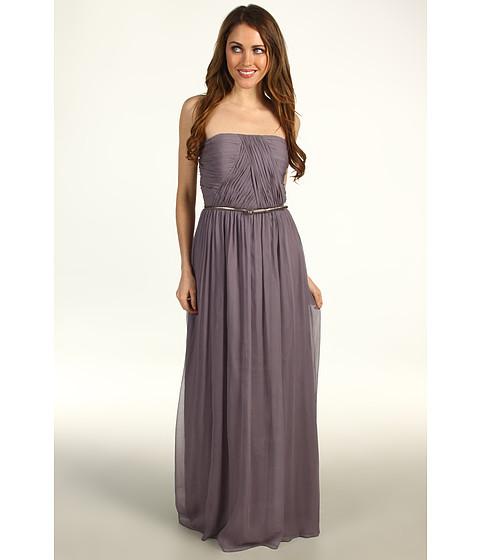 Rochii Donna Morgan - Multi-Directional Belted Bustier Dress - Grey Ridge