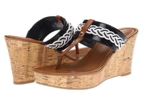 Sandale Tommy Hilfiger - Madge - Marine/Chic Cream & Marine/Luggage