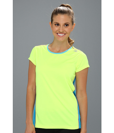 Tricouri New Balance - Get Running Short Sleeve - Yellow
