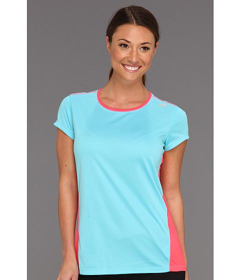 Tricouri New Balance - Get Running Short Sleeve - Pink Tint