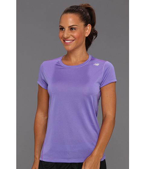 Tricouri New Balance - Heather Short Sleeve - Purple Haze