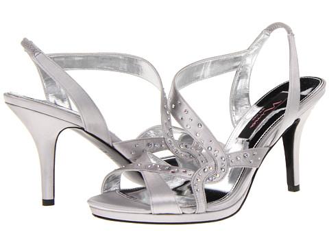 Pantofi Nina - Benicia - Silver