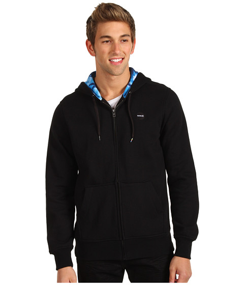 Bluze Hurley - Krush Zip Fleece Hoodie - Black