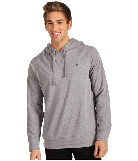 Bluze Hurley - L/S Hooded Fleece - Heather Gray