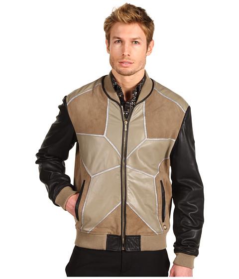 Jachete Just Cavalli - Star Leather Jacket - Tan