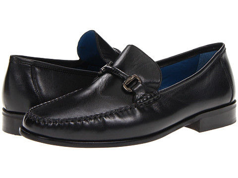 Pantofi Florsheim - Sarasota Bit - Black Smooth Leather